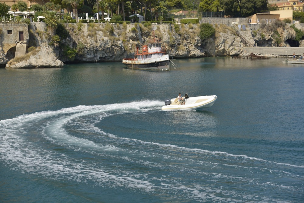 Rental RIB Sunsea with a permit
