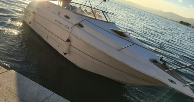 Rental Motorboat in Split - Larson 254 cabrio