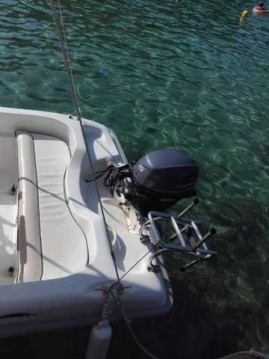 Boat rental Blanes cheap FIBER 400