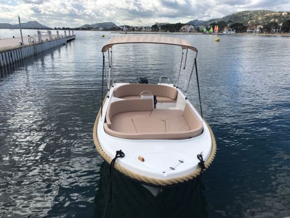 Boat rental Blanes cheap Marion 500