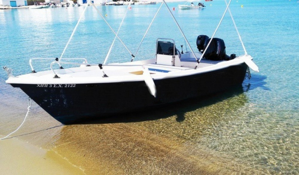 Motorboat for rent Pollonia at the best price