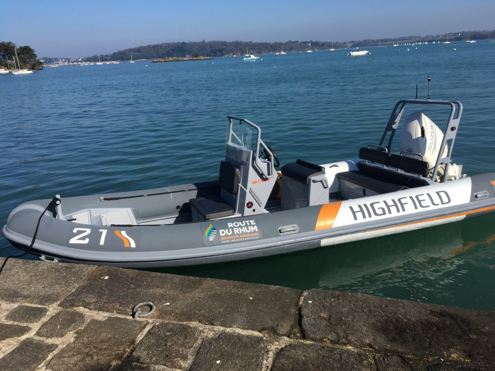 Hire RIB with or without skipper Highfield Dinard