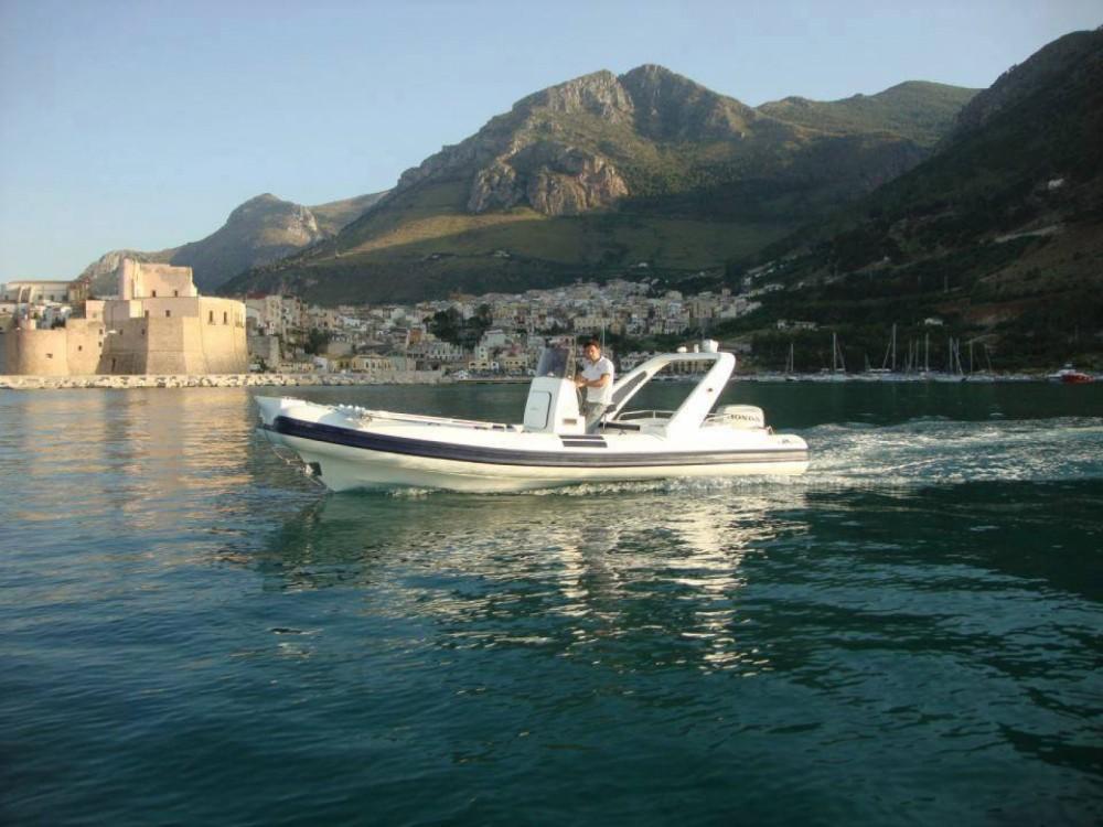 Hire RIB with or without skipper Altamarea Castellammare del Golfo