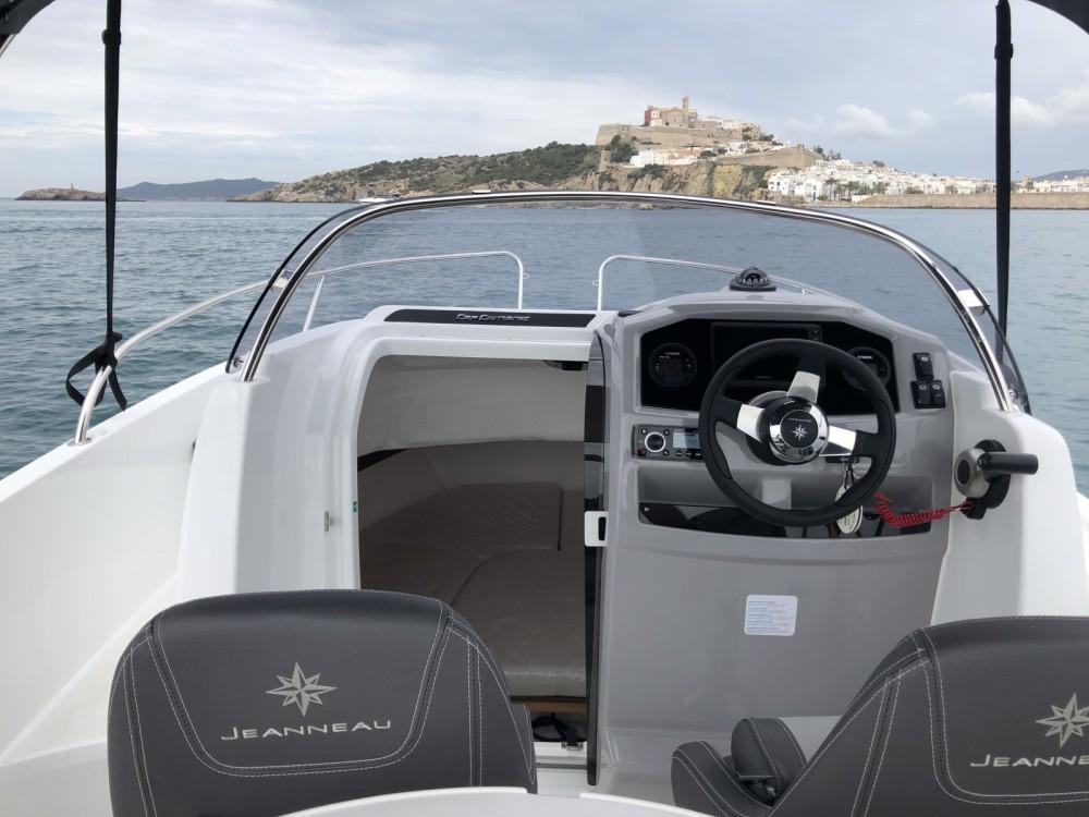Rent a Jeanneau Cap Camarat 5.5 WA Serie 2 Ibiza