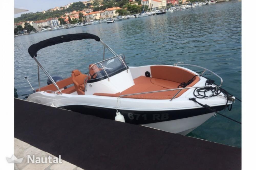 Rental Motor boat in Dubrovnik - Okiboats Barracuda 545 Open
