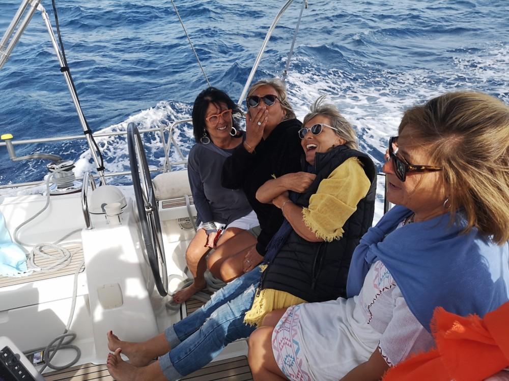 Boat rental Nice cheap Oceanis 48