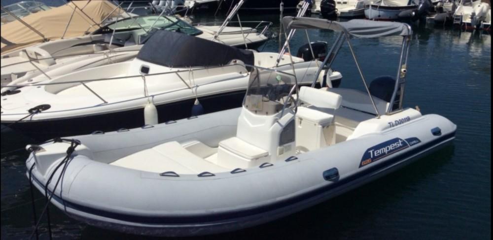 Boat rental Capelli Tempest 626 in Algajola on Samboat