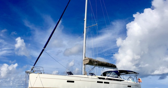 Jeanneau Sun Odyssey 469 between personal and professional Le Marin