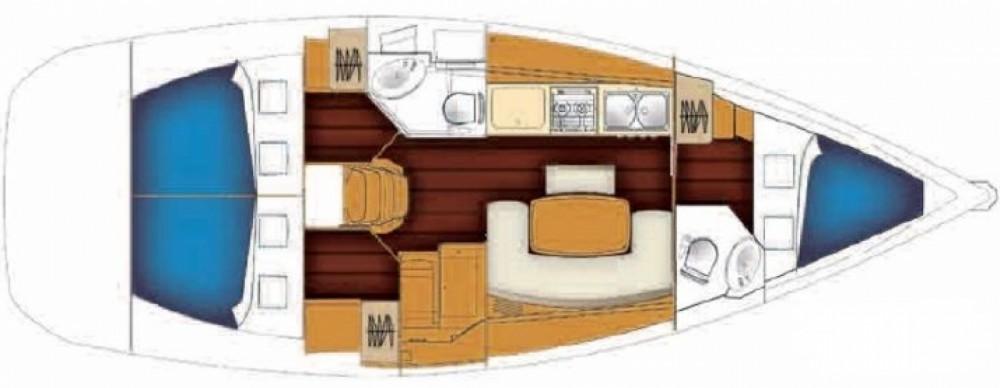 Boat rental Bénéteau Cyclades 39.3 in Milazzo on Samboat