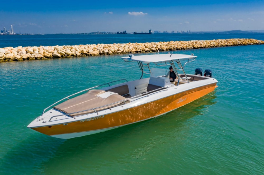 Motorboat for rent Bolívar at the best price