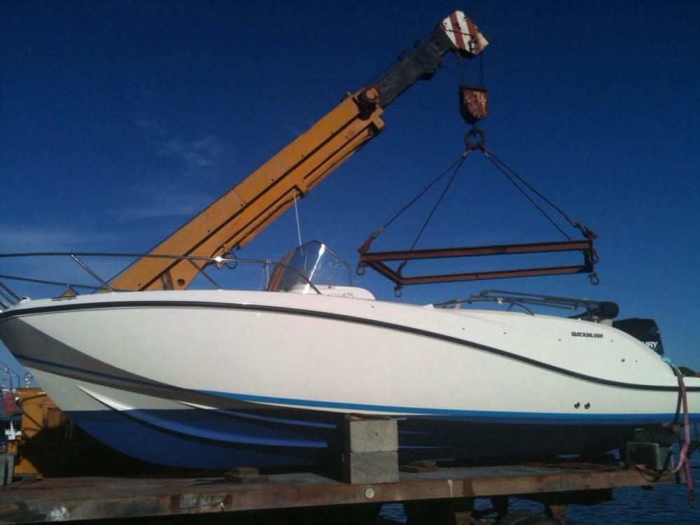 Rental Motor boat in Posthudorra/Porto Torres - Quicksilver Activ 675 Sundeck