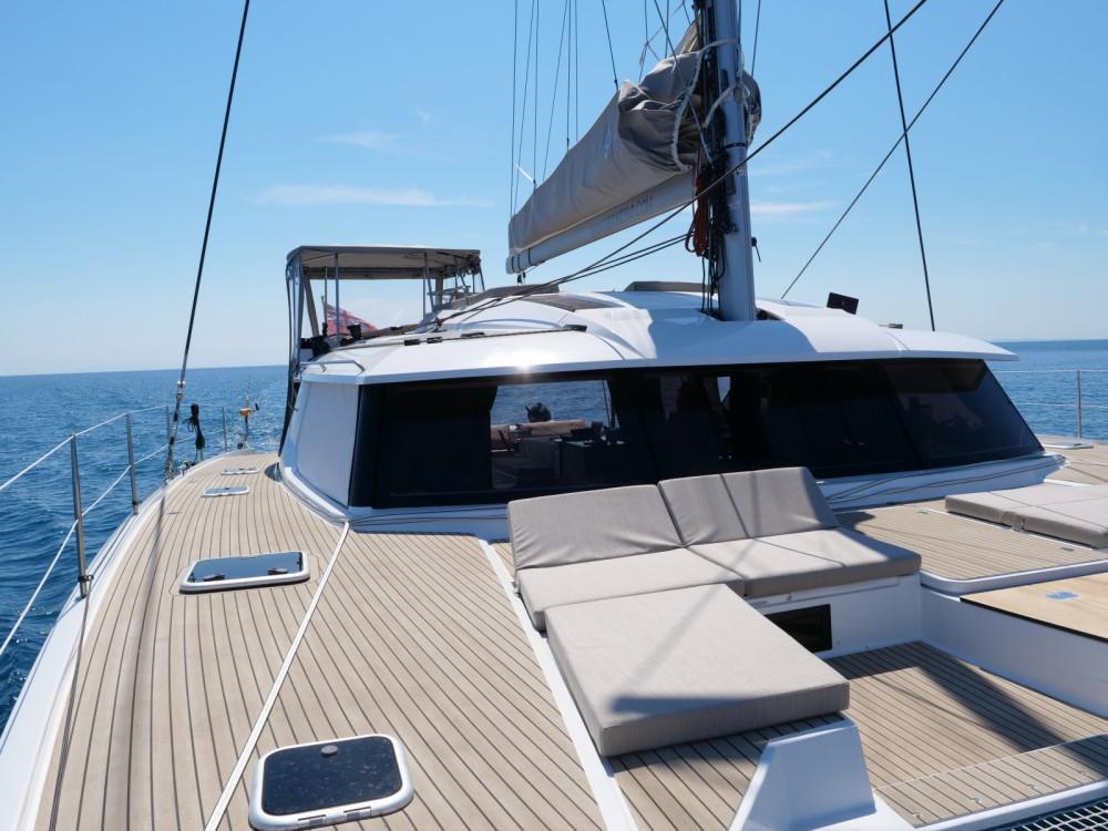 Rental Catamaran in Ajaccio - Fountaine Pajot Saba 50