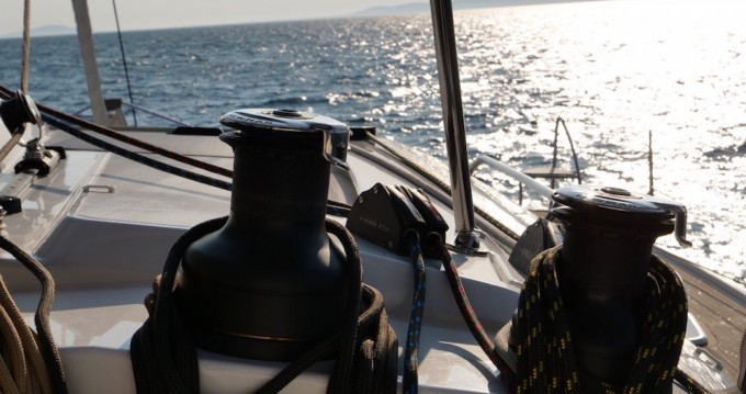 Fountaine Pajot Saba 50 between personal and professional Ajaccio