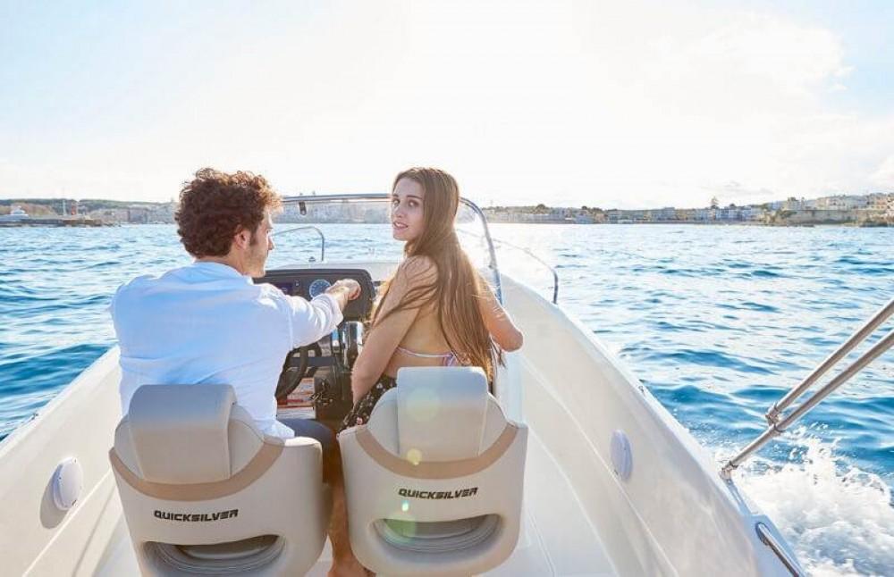 Rental Motor boat in Trogir - Quicksilver Activ 605 Open