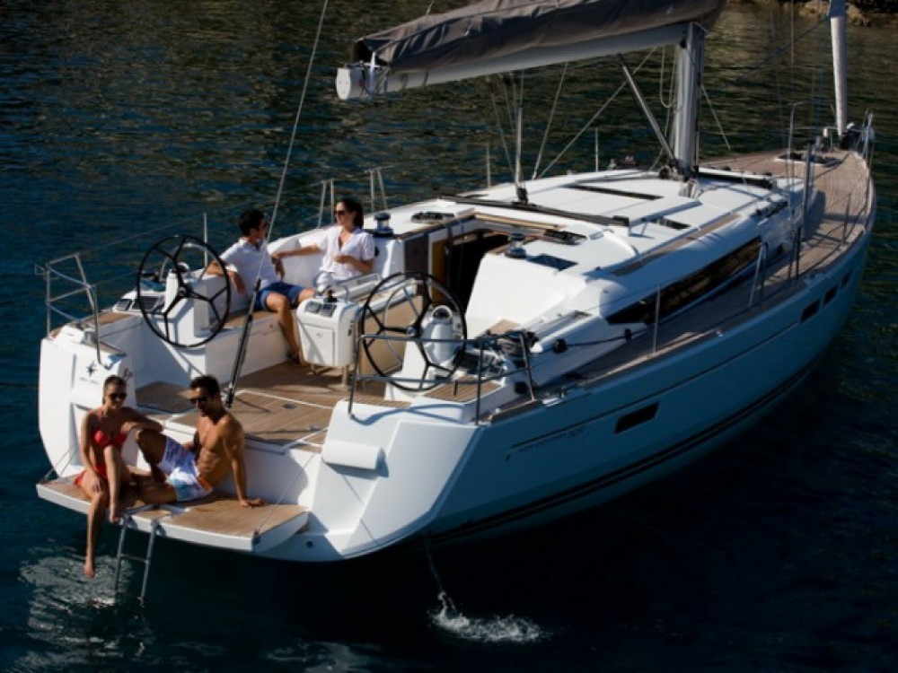 Jeanneau Sun Odyssey 509 between personal and professional Dénia