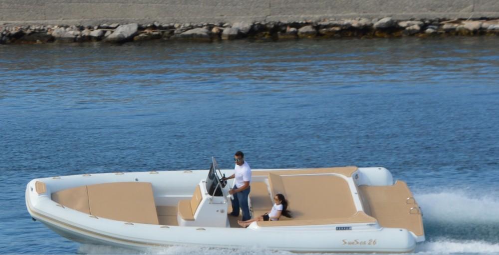 Rental RIB in Palermo - Sunsea 26