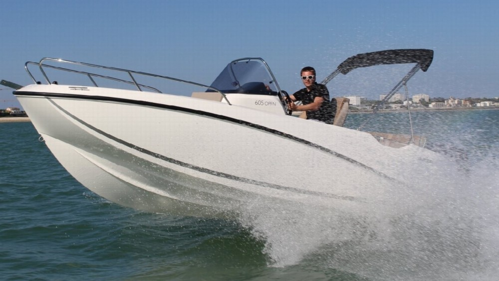 Rental yacht La Rochelle - Quicksilver Activ 605 Open on SamBoat