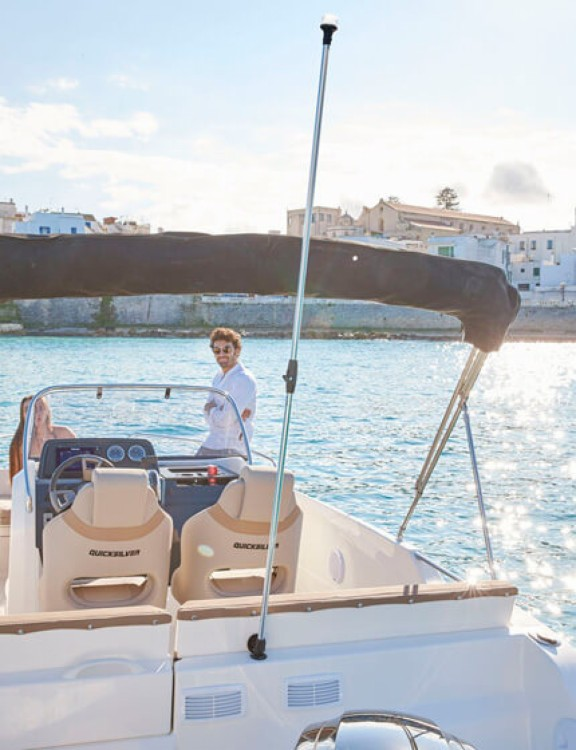 Rent a Quicksilver Activ 605 Open La Rochelle