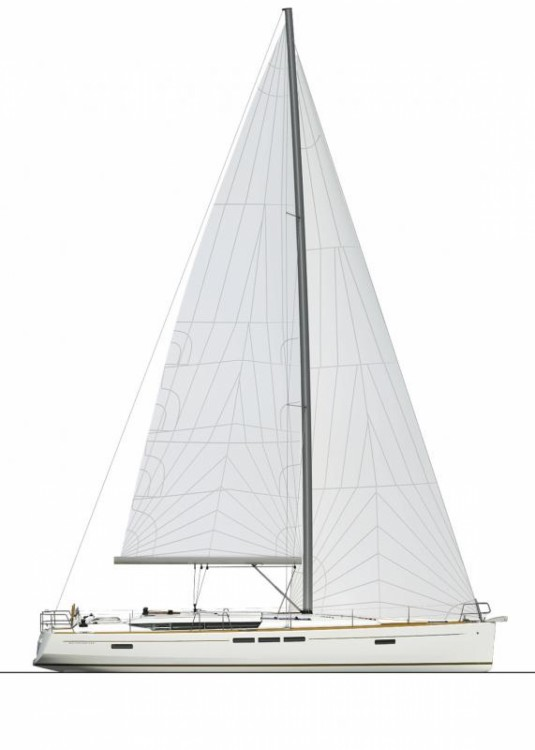 Jeanneau Sun Odyssey 509 between personal and professional Kalafationes