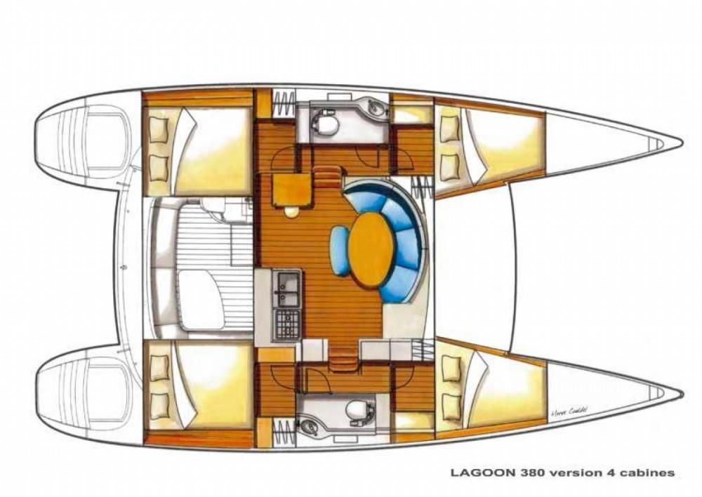 Rental Catamaran in Marsala - Lagoon Lagoon 380