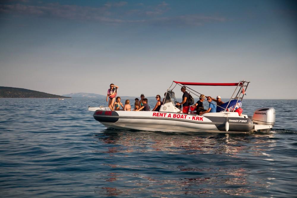 Rental RIB in Croatia - Marlin Boat Dynamic 790