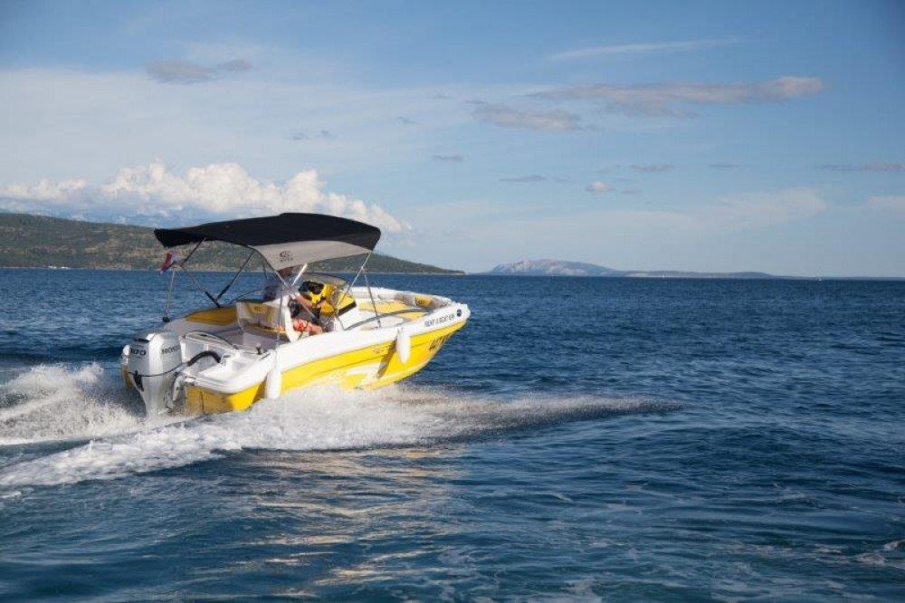Rental Motor boat in Krk - Rancraft RS 5