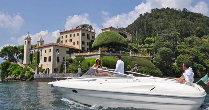Rental Motorboat in Como - Cranchi Turchese 24