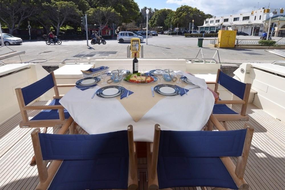 Boat rental Aegean cheap Ferretti 68
