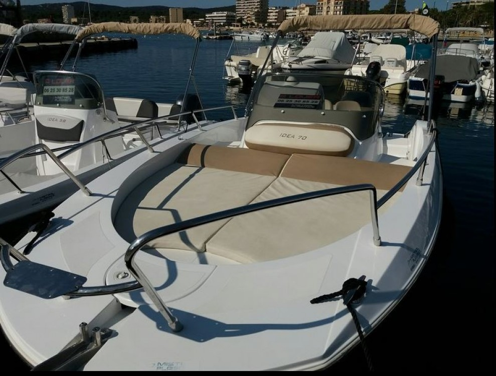 Hire Motor boat with or without skipper Idea Marine Le Lavandou