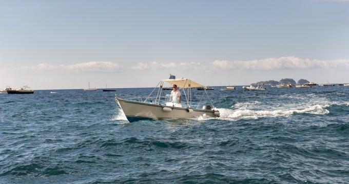 Rental Motorboat in Positano - Jolly lancia