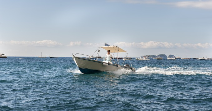 Hire Motorboat with or without skipper Jolly Positano