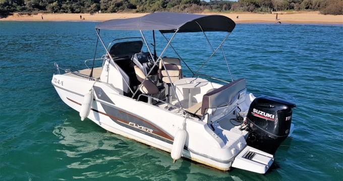 Rental Motorboat in Palamós - Bénéteau Flyer 550 Sun Deck