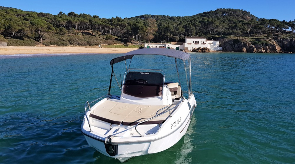 Motor boat for rent Palamós at the best price