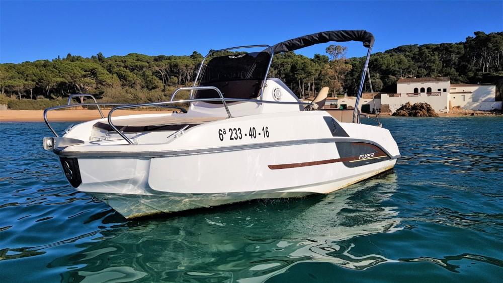 Rental Motor boat in Palamós - Bénéteau Flyer 550 Sun Deck