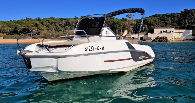 Hire Motorboat with or without skipper Bénéteau Palamós