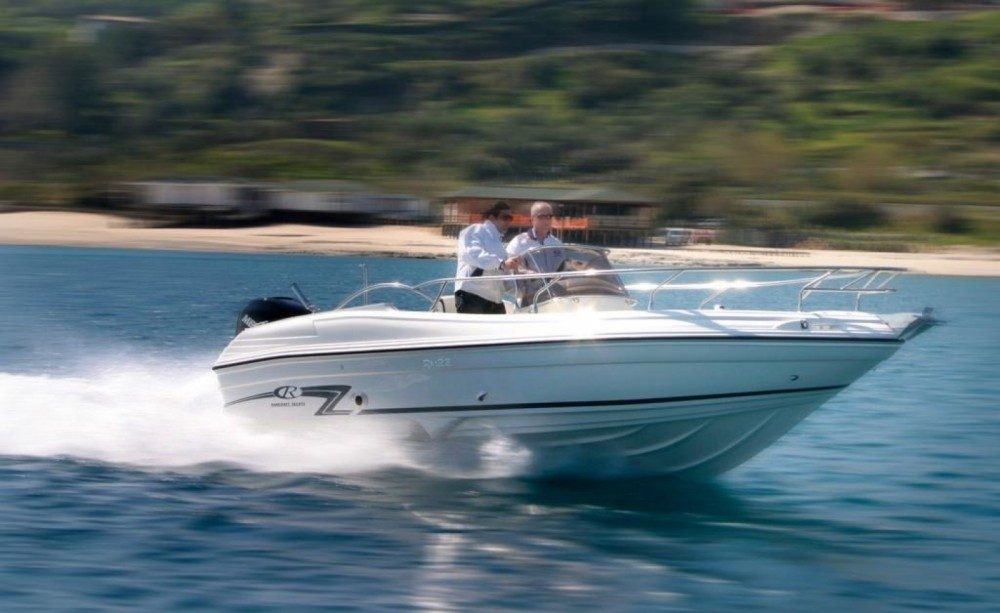 Rental Motor boat Rancraft with a permit