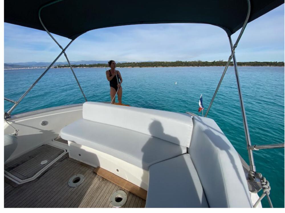 Rental yacht Mandelieu-la-Napoule - Open 35 open cabin cruiser on SamBoat