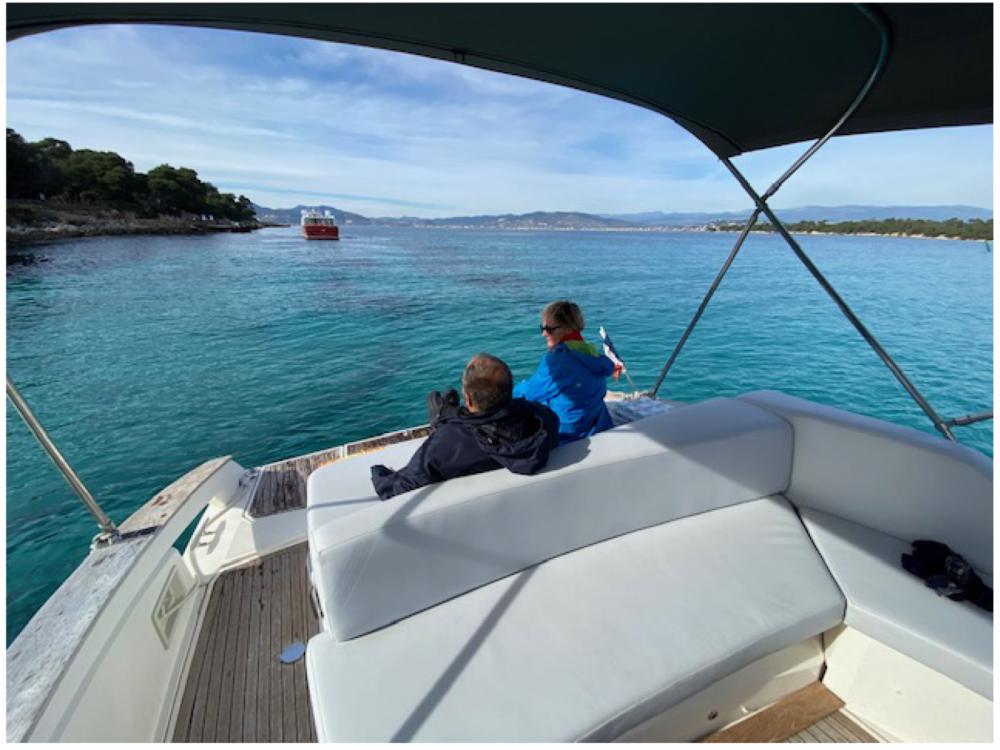 Boat rental Mandelieu-la-Napoule cheap 35 open cabin cruiser