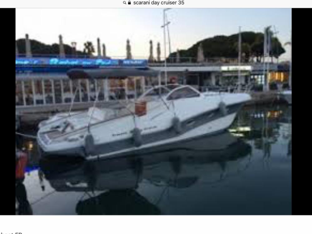 Rent a Open 35 open cabin cruiser Mandelieu-la-Napoule