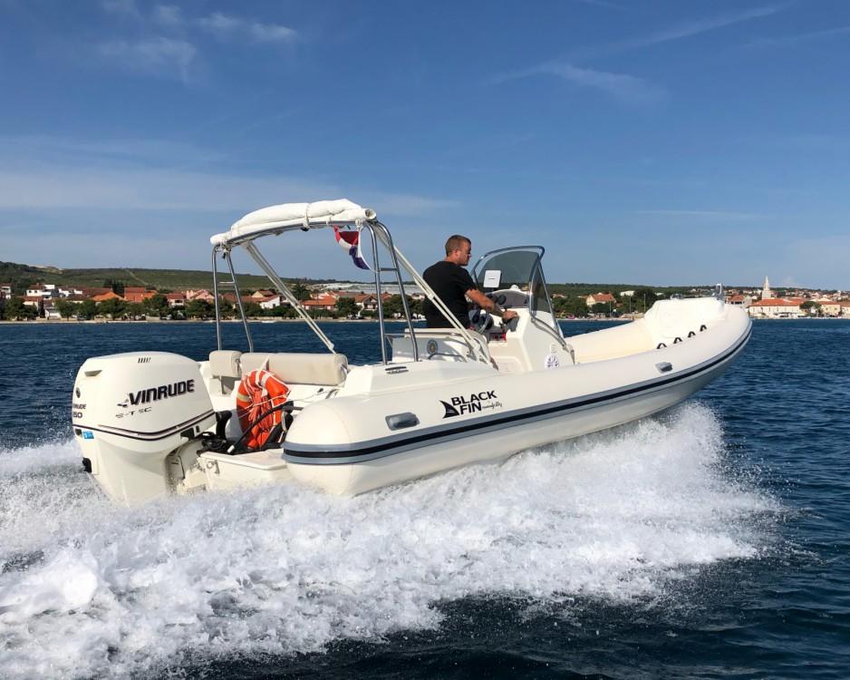 Boat rental Grad Biograd na Moru cheap Blackfin 25 Elegance