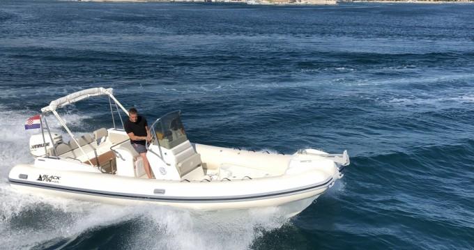 Boat rental Biograd na Moru cheap Blackfin 25 Elegance