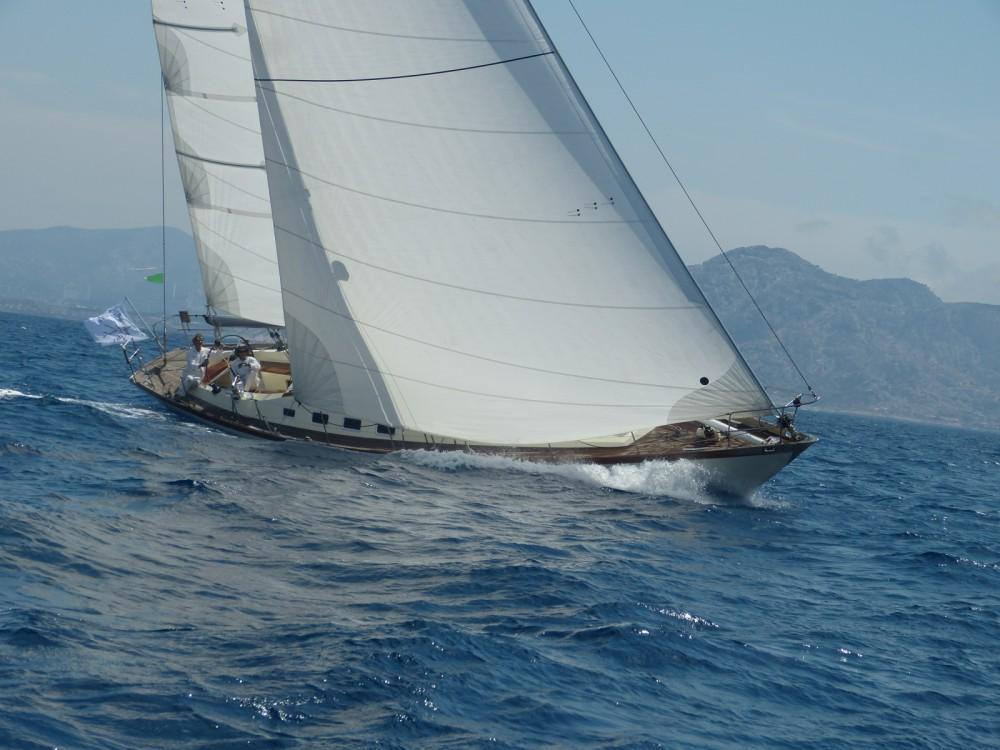 Rental Sailboat Sangermani with a permit