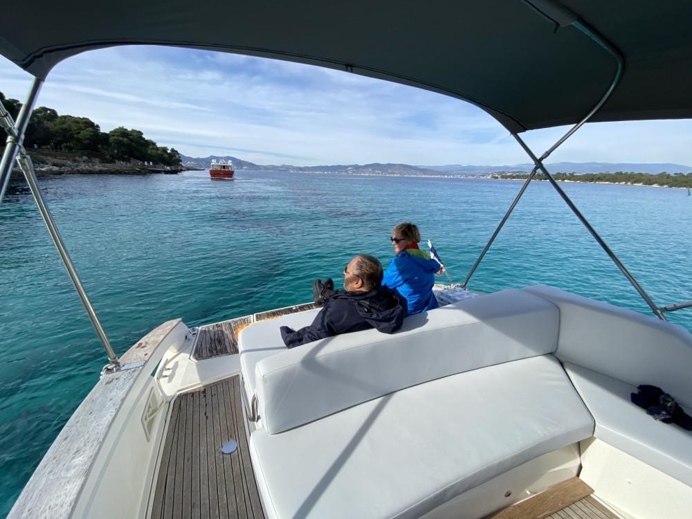 Boat rental Open 35 open cabin cruiser in Mandelieu-la-Napoule on Samboat