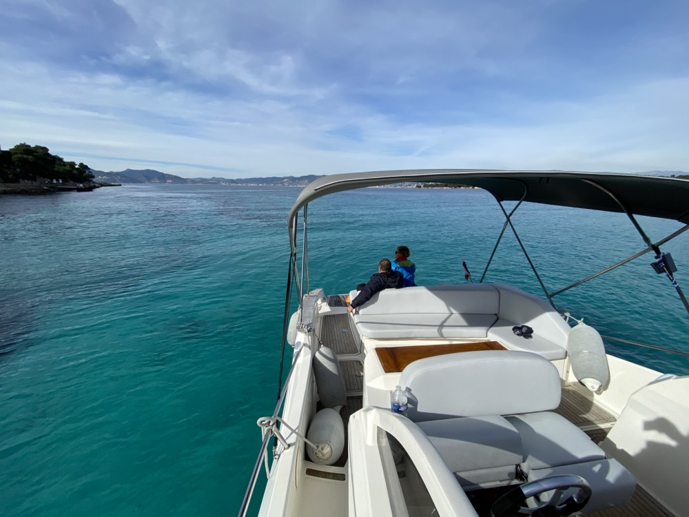 Hire Motor boat with or without skipper Open Mandelieu-la-Napoule