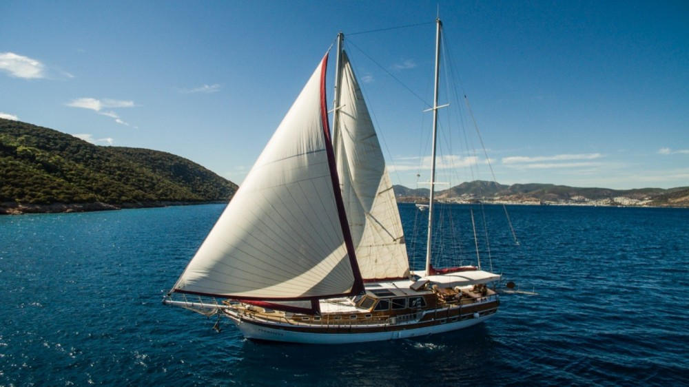 Hire Sailboat with or without skipper Custom Made - Bodrum Guleter Muğla