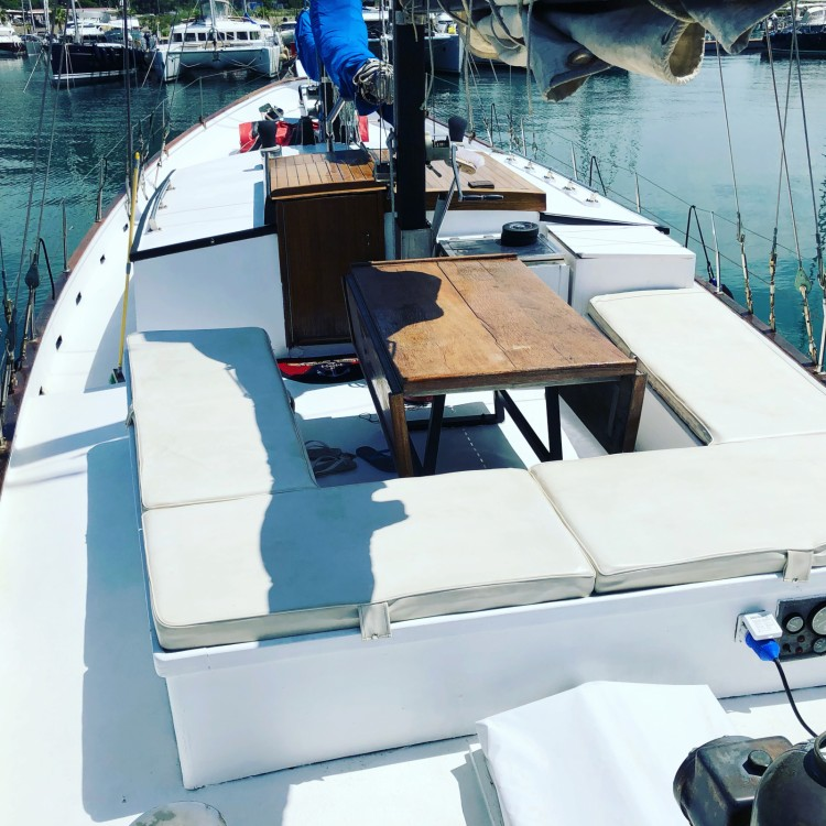 Maestral Ketch oceanico  between personal and professional Salerno