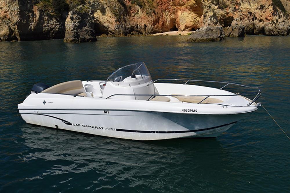 Motor boat for rent Algarve at the best price