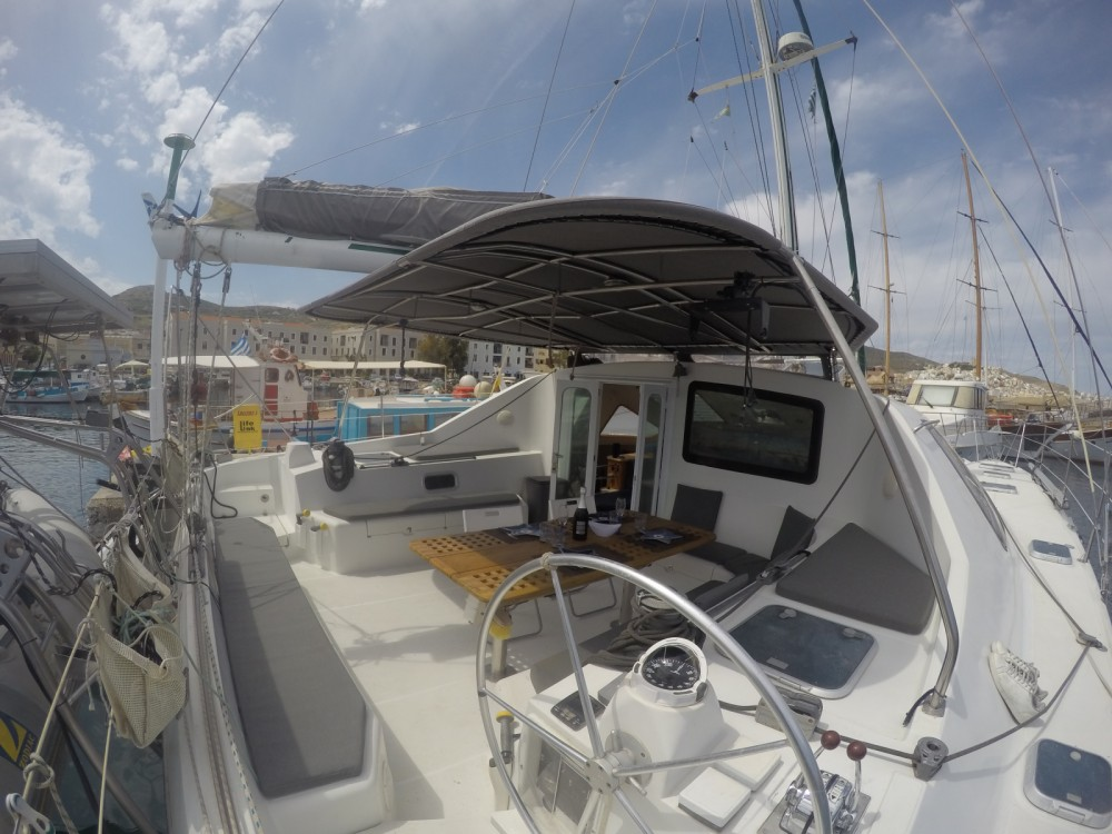 Catamaran for rent Ermoupoli at the best price