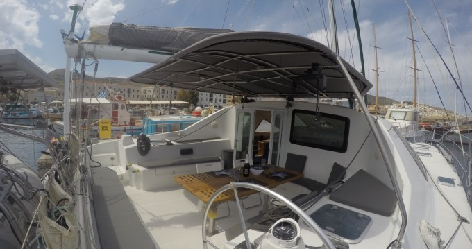 Catamaran for rent Syra at the best price
