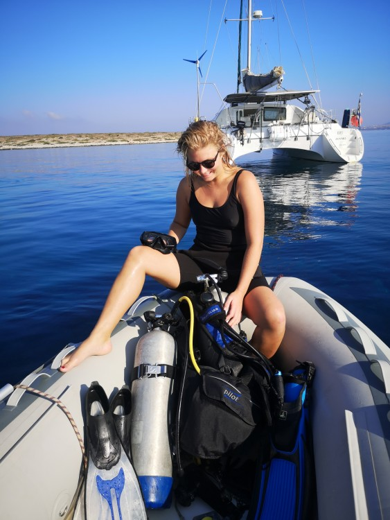 Rental Catamaran Jouandoudet with a permit